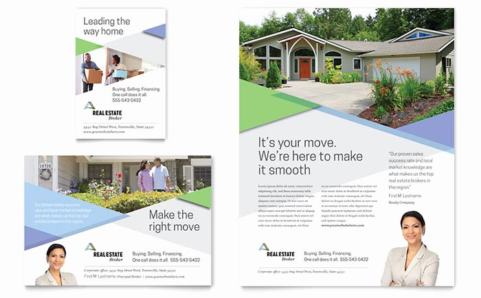 Real Estate Advertisement Template Beautiful Realtor Flyer & Ad Template Design