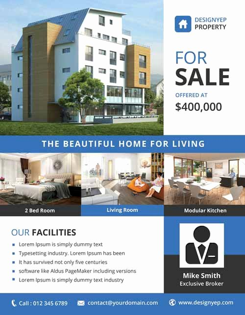 Real Estate Advertisement Template Elegant Download the Best Free Real Estate Flyer Templates for