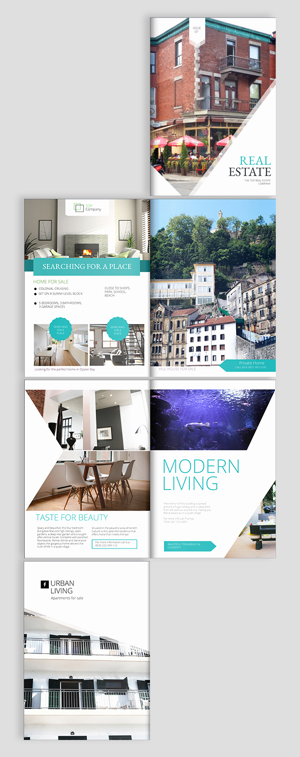 Real Estate Advertisement Template Elegant Real Estate Brochure Design Templates and Ideas