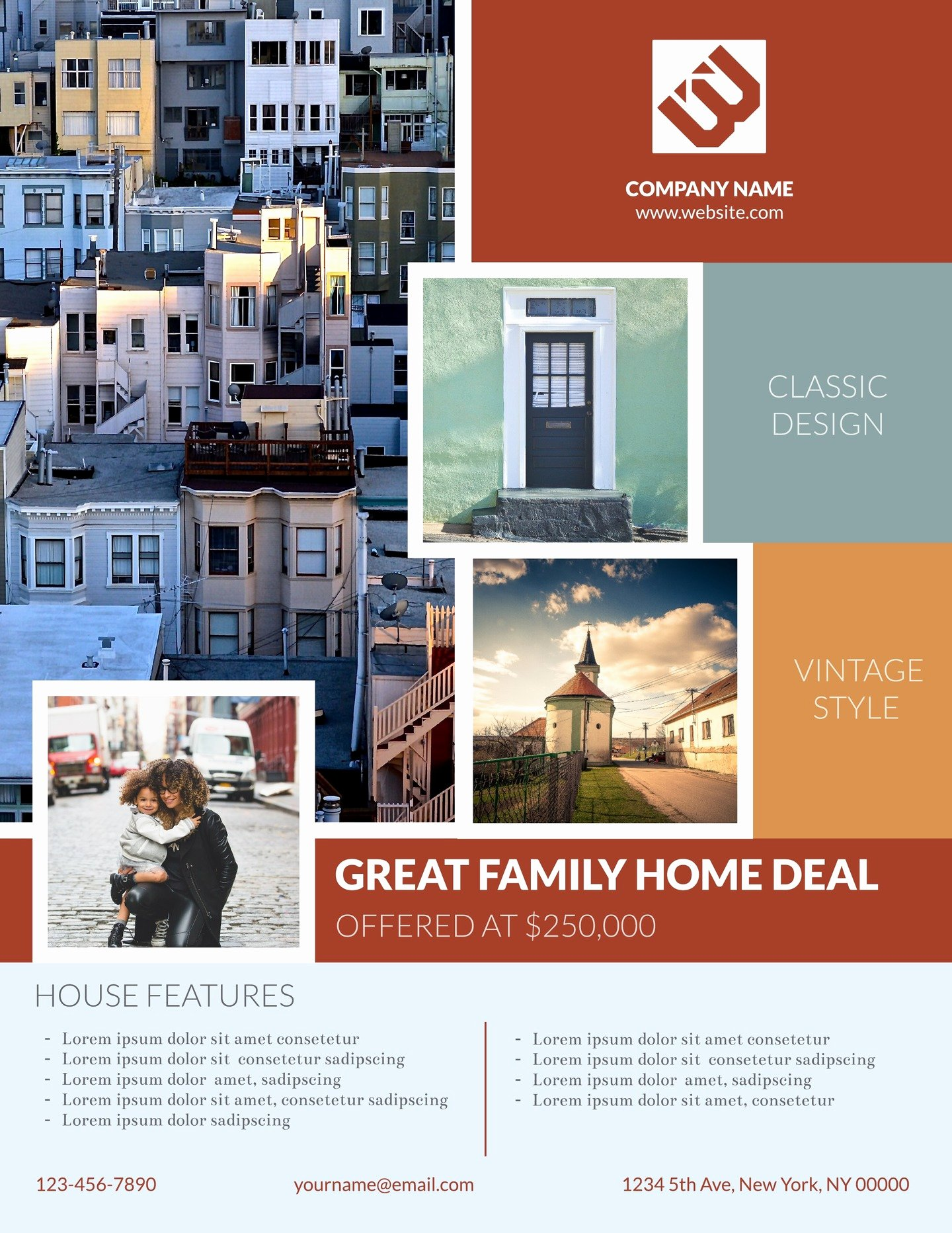 Real Estate Advertisement Template Inspirational 4 Free Real Estate Flyer Templates & Examples Lucidpress