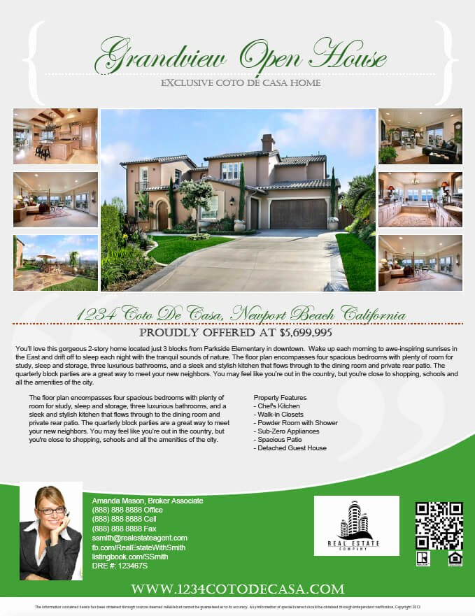 Real Estate Advertisement Template Inspirational Real Estate Flyers Pdf Templates Turnkey Flyers