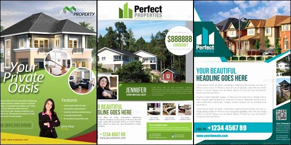 Real Estate Advertisement Template Inspirational Showcase Of High Quality Real Estate Flyer Templates
