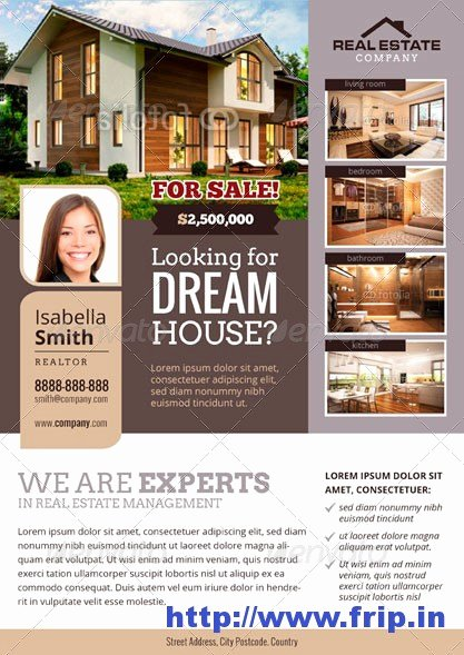 Real Estate Advertisement Template Lovely 70 Best Real Estate Flyer Print Templates 2016