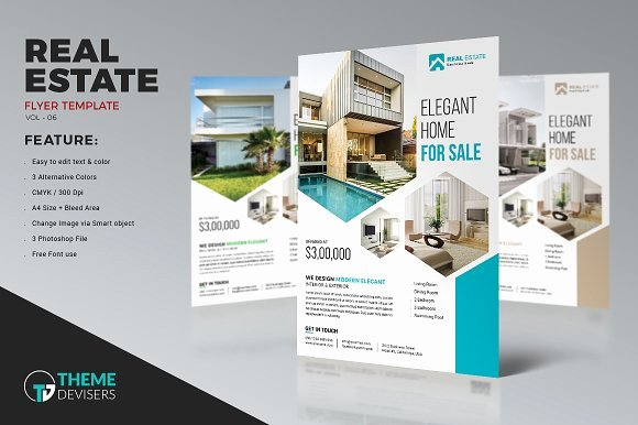 Real Estate Agent Flyer Template Awesome Real Estate Business Flyer Template Flyer Templates