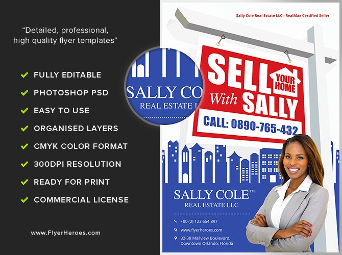 Real Estate Agent Flyer Template Beautiful Sell Your Home Realtor Flyer Template Flyerheroes