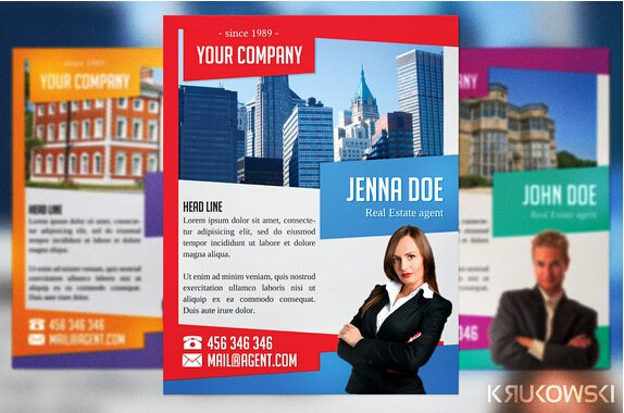 Real Estate Agent Flyer Template Best Of 10 Professional Real Estate Agent Brochure Templates Free