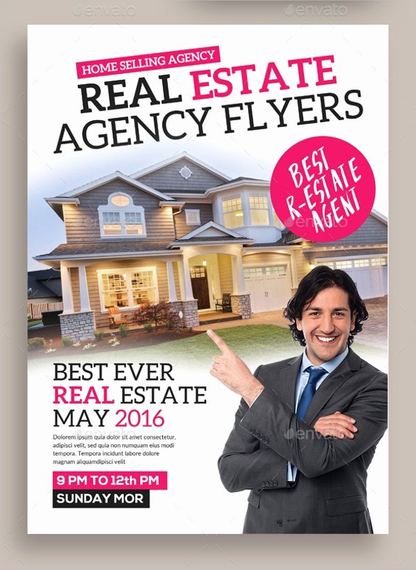 Real Estate Agent Flyer Template Best Of 39 Real Estate Flyer Templates Ai Word Psd Eps
