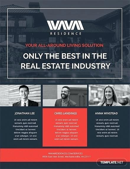 Real Estate Agent Flyer Template Best Of Real Estate Agent Brochure Template – Harriscateringfo