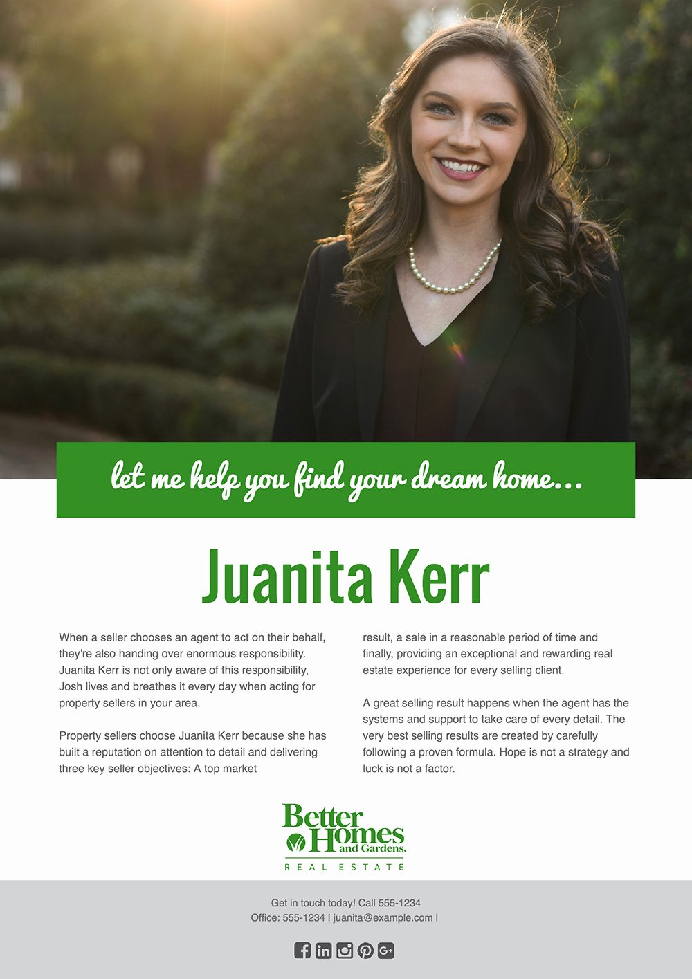 Real Estate Agent Flyer Template Fresh Agent Profile How to Create A Real Estate Agent Flyer