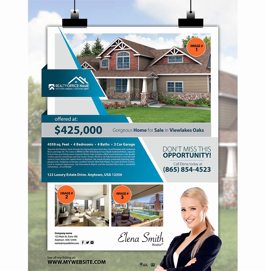 Real Estate Agent Flyer Template Fresh Real Estate Agent Flyer Template Yourweek 1488a9eca25e