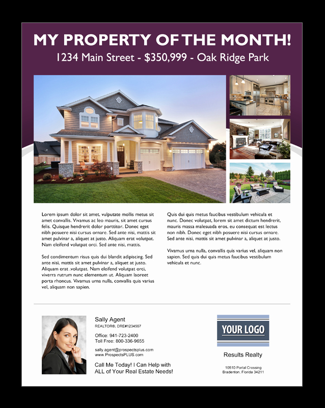 Real Estate Agent Flyer Template Inspirational 15 Best Free Open House Flyer Templates