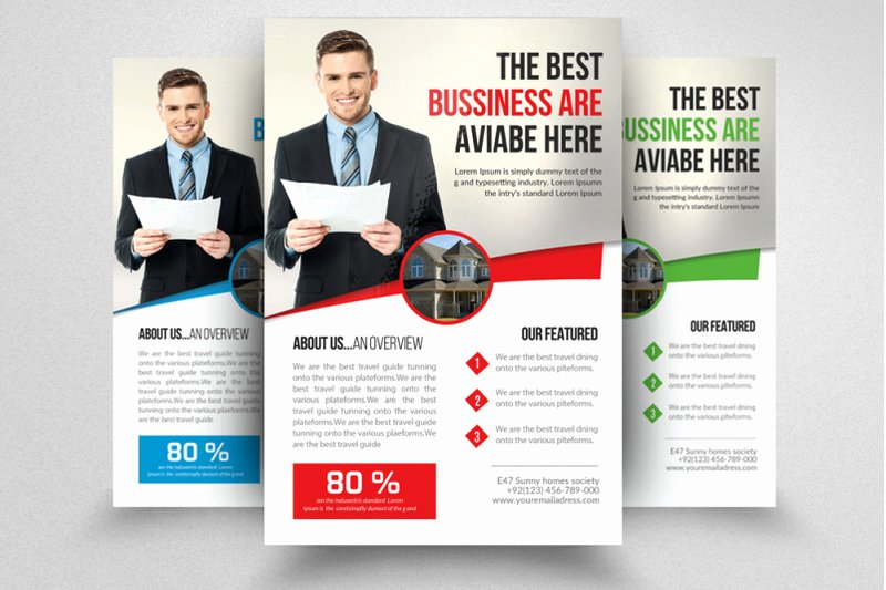Real Estate Agent Flyer Template Lovely Real Estate Agent Flyer Template by Designhub