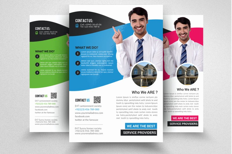 Real Estate Agent Flyer Template Luxury Real Estate Agent Flyer Template by Designhub