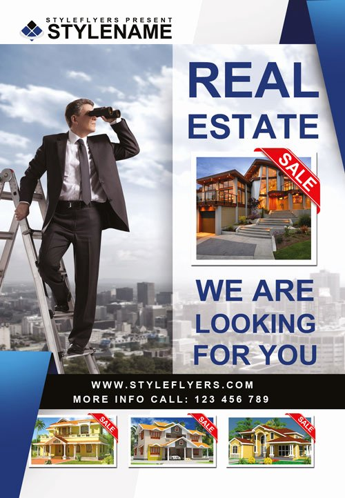 Real Estate Flyer Template Psd Best Of Real Estate Agency Free Psd Flyer Template Download for