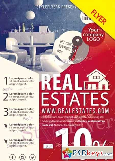 Real Estate Flyer Template Psd Best Of Real Estate V11 Psd Flyer Template Free Download