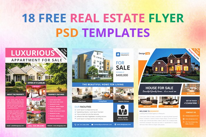 Real Estate Flyer Template Psd Fresh 17 Free Real Estate Flyer Psd Templates Designyep