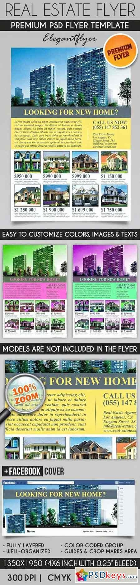 Real Estate Flyer Template Psd Inspirational Real Estate – Flyer Psd Template Cover Free