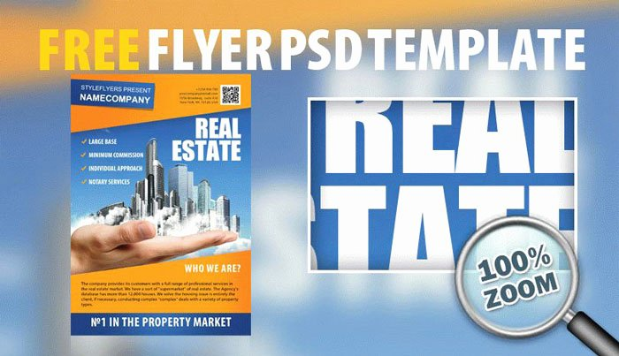 Real Estate Flyer Template Psd Lovely 32 Free Business Flyer Templates Psd for Download Designyep