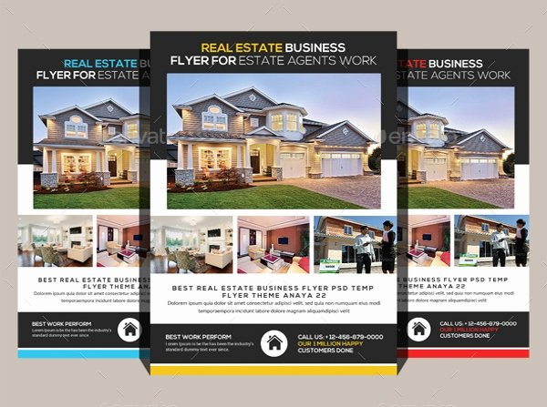 Real Estate Flyer Template Psd Lovely Real Estate Flyers – 30 Free Pdf Psd Ai Vector Eps