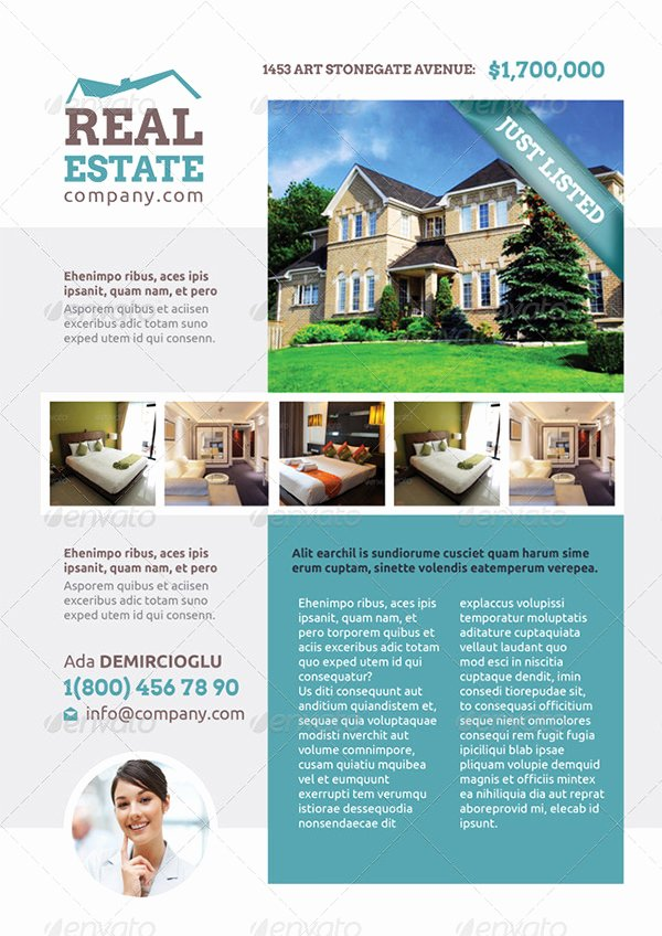 Real Estate Flyer Template Psd Luxury Real Estate Flyer Template – 52 Free Psd Ai Vector Eps
