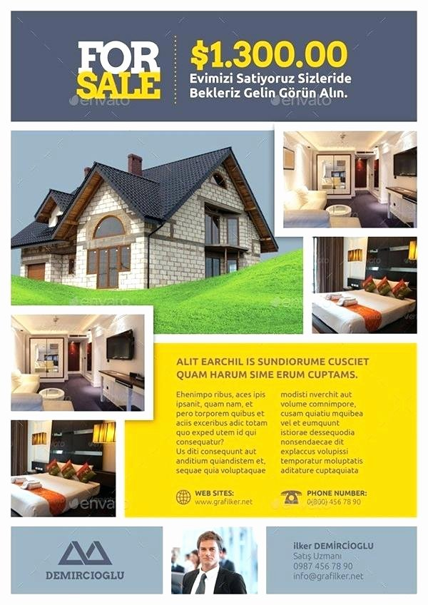 Real Estate Flyer Template Publisher Best Of Modern Real Estate Flyer the Best for Realty Panies