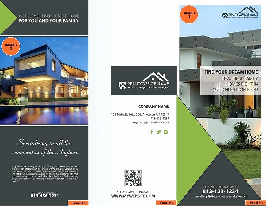 Real Estate Flyer Template Publisher Lovely Luxury Home Real Estate Flyer Template Word format