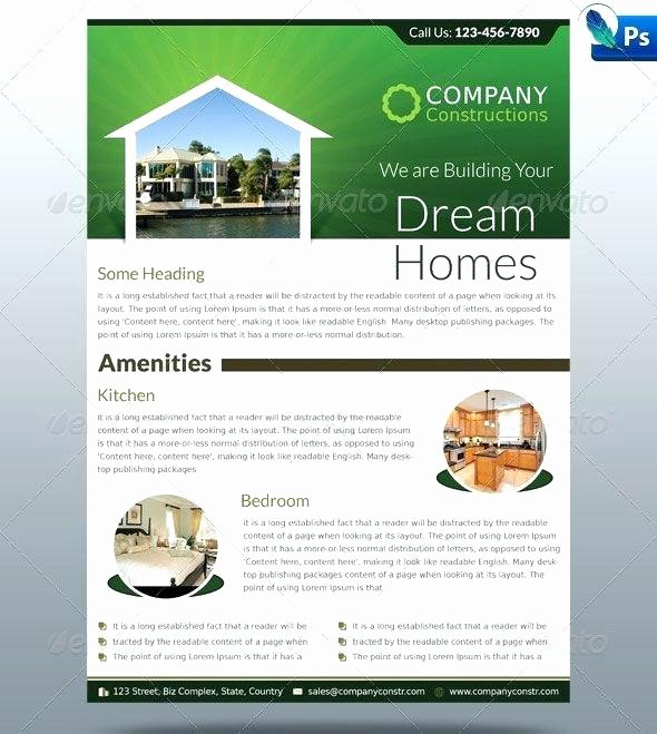 Real Estate Flyer Template Publisher New Publisher Real Estate Flyer Template – Flirty