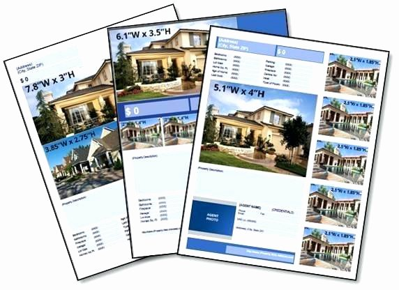 Real Estate Flyer Template Publisher Unique Publisher Real Estate Flyer Template – Cashinghotnichesfo