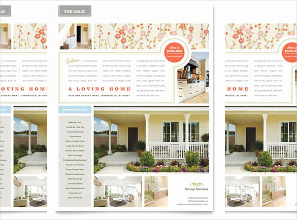 Real Estate Flyer Template Word Luxury 38 Real Estate Flyer Templates Psd Ai Word Indesign