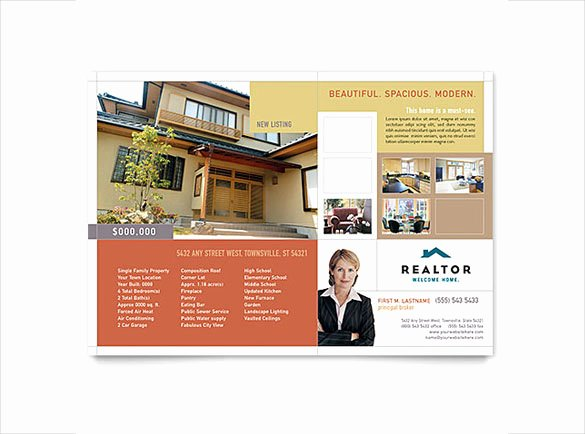 Real Estate Flyer Template Word New 38 Real Estate Flyer Templates Psd Ai Word Indesign