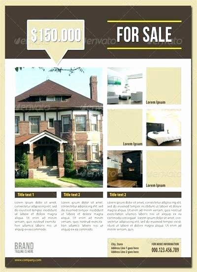 Real Estate Flyer Template Word New Property Flyer Template Apartment Flyers Free Template