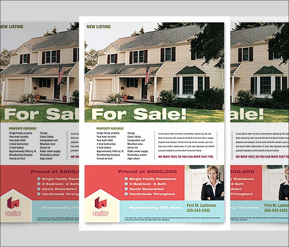 Real Estate Flyer Template Word Unique 38 Real Estate Flyer Templates Psd Ai Word Indesign