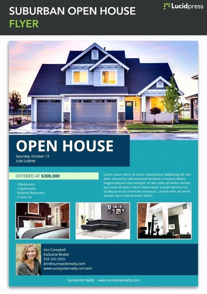 Real Estate Flyer Template Word Unique House for Sale Flyer House for Sale Flyer Template Free