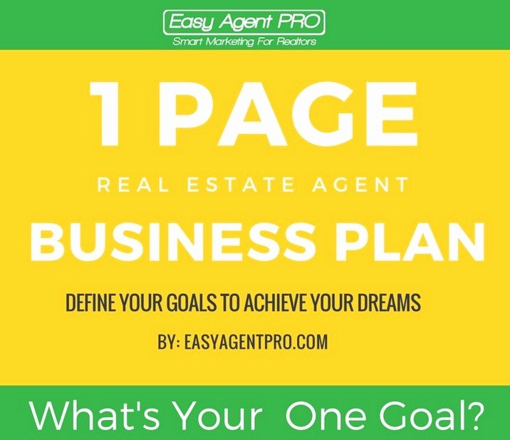Real Estate Goals Template Fresh the Ultimate Real Estate Business Plan to Hit Your Goals
