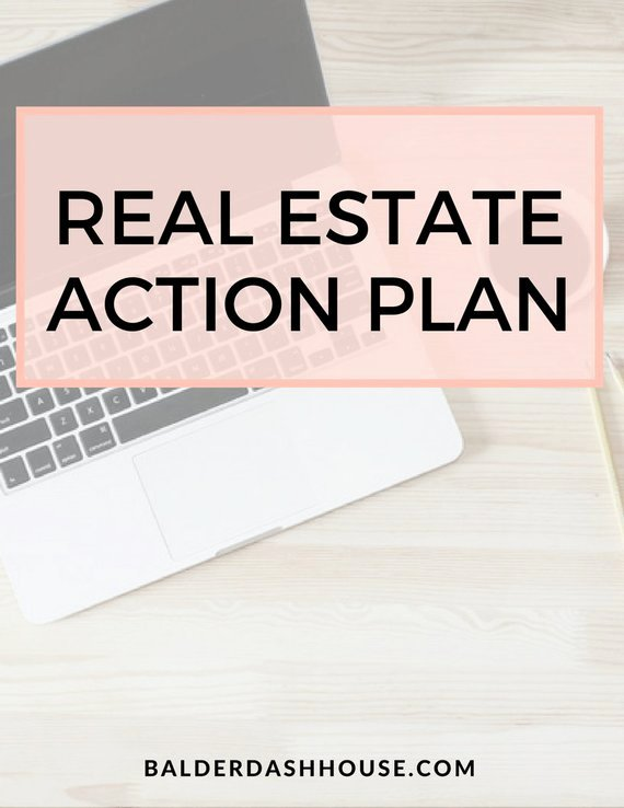 Real Estate Goals Template New Real Estate Agent Action Plan Template Real Estate Templates