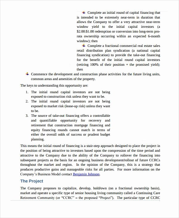 Real Estate Investment Proposal Template Beautiful 9 Real Estate Investment Proposal Samples & Templates
