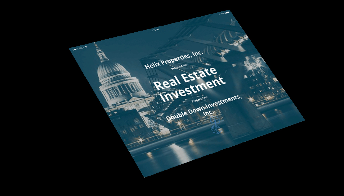 Real Estate Investment Proposal Template Beautiful Real Estate Investment Proposal Template Professional