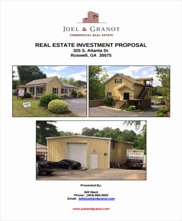 Real Estate Investment Proposal Template Best Of 12 Real Estate Investment Proposal Templates Pdf Word
