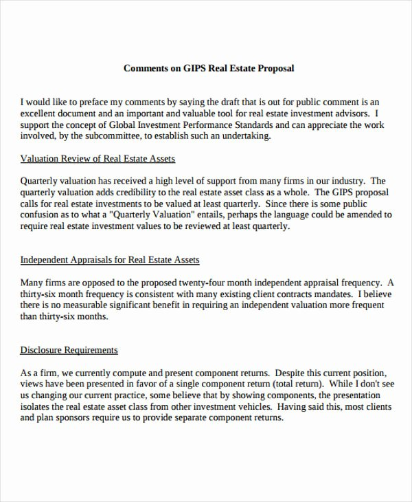 Real Estate Investment Proposal Template Best Of 13 Real Estate Business Proposal Templates Free Word