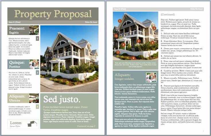 Real Estate Investment Proposal Template Elegant Pinterest • the World's Catalog Of Ideas