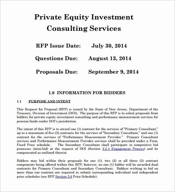 Real Estate Investment Proposal Template Fresh 18 Investment Proposal Templates Word Pdf Pages