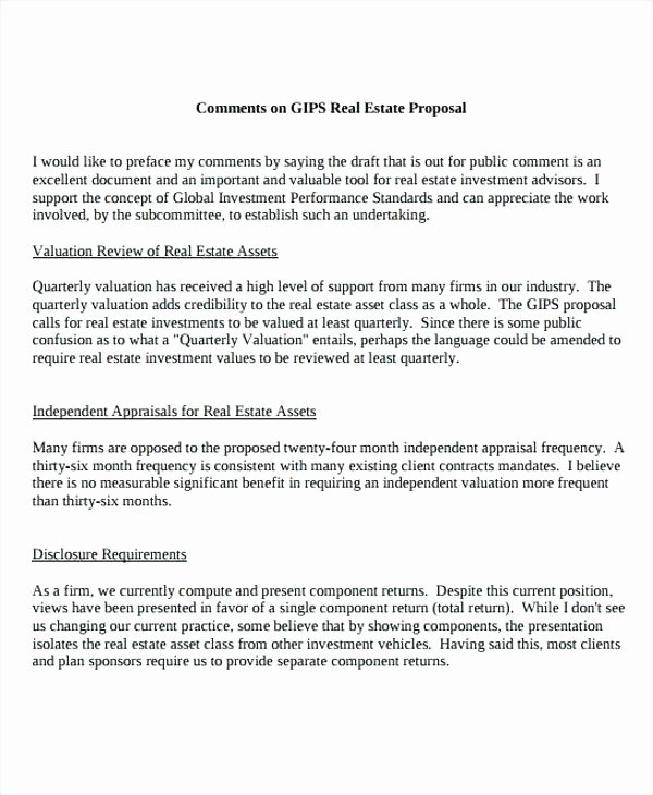 Real Estate Investment Proposal Template Lovely Real Estate Business Proposal Templates Free Sample
