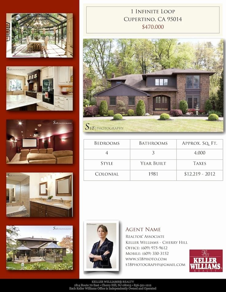 Real Estate Listing Flyer Template Awesome 13 Real Estate Flyer Templates Excel Pdf formats