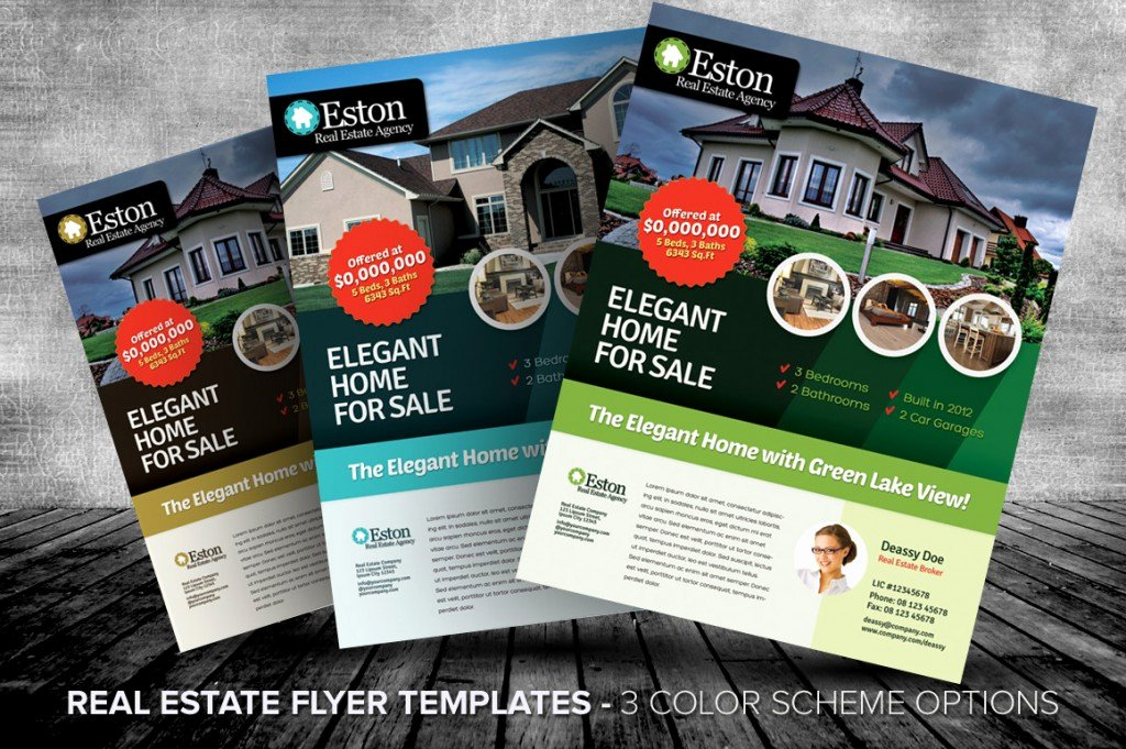 Real Estate Listing Flyer Template Beautiful Listing Flyers for Real Estate Agents and Homeowners