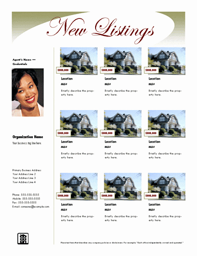 Real Estate Listing Flyer Template Inspirational Download Multiple Listing Flyer Luxury Free Flyer