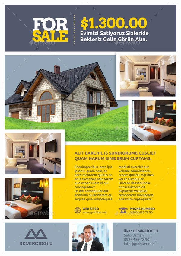 Real Estate Listing Flyer Template Lovely Real Estate Flyer Template 27 Free Psd Ai Vector Eps