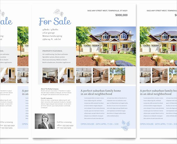 Real Estate Listing Flyer Template Luxury 38 Real Estate Flyer Templates Psd Ai Word Indesign