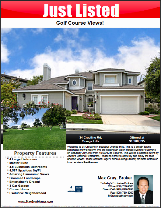 Real Estate Listing Flyer Template Unique How to Make A Pdf Real Estate Flyer Step by Step