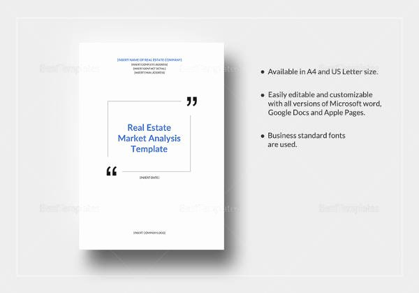 Real Estate Market Analysis Template Awesome 12 Market Analysis Samples Examples Templates