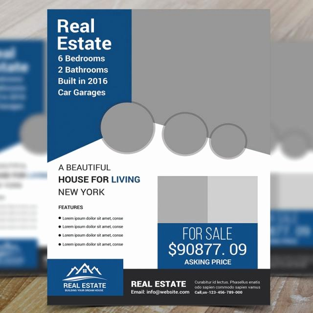Real Estate Market Update Template Beautiful Real Estate Flyer Psd Template for Free Download On Tree